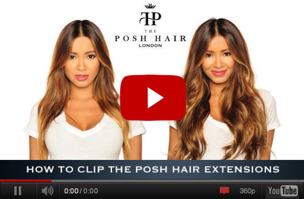 Posh clip in human hair extensions remy full headthe posh hair if you need to know more about your posh hair extensions how to care for them how to wear them and what to do when youre not wearing them pmusecretfo Images